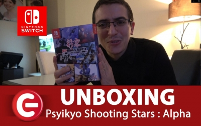 Test vidéo [UNBOXING] EDITION LIMITED - Psikyo Shooting Stars : Alpha